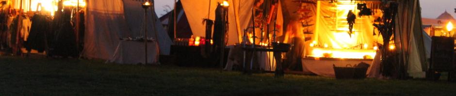 Abendimpressionen vom Ritterfest in Gangelt